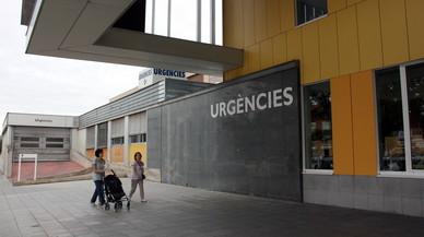 Entrada de las Urgencias del Hospital Parc Taulí de Sabadell.