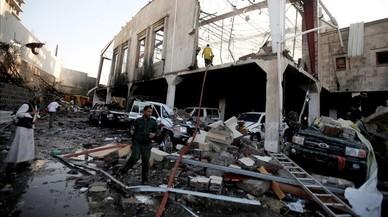 Més de 80 morts en un bombardeig de l'Aràbia Saudita al Iemen