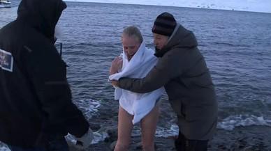 Mercedes Milá se desnuda (literal y metafóricamente) ante Jesús Calleja