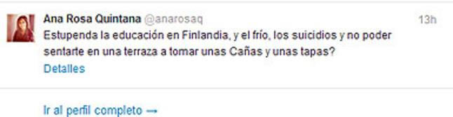 Un comentario de Ana Rosa Quintana sobre el 'Salvados' de Jordi �vole revoluciona Twitter
