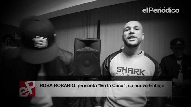 'Rosa Rosario' interpreta un fragmento de su nuevo tema 'En la Casa', para EL PERI�DICO.