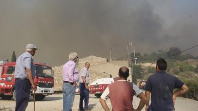 Estabilitzat l'incendi de Vallbona de les Monges després de cremar 780 hectàrees