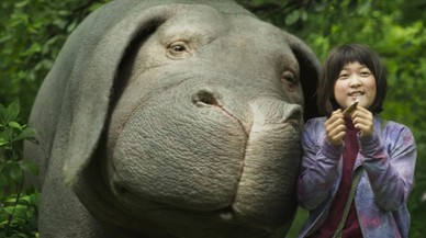 'Okja', de Cannes a la tele