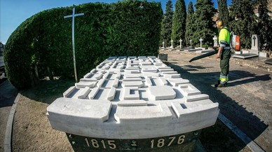 La tomba d'Ildefons Cerdà