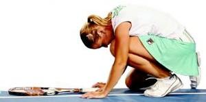 Jelena Dokic celebra su triunfo ante Kleybanova.