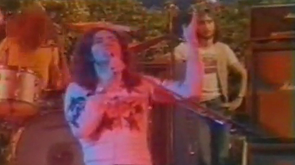 Directo de 'Smoke on the water', el 6 de abril de 1974