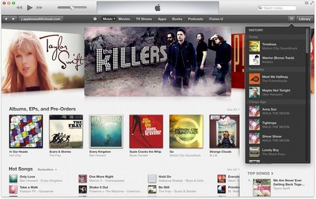 iTunes.