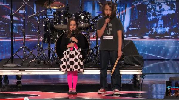 Una niña de seis años sorprende cantando heavy metal en Americas Got Talent