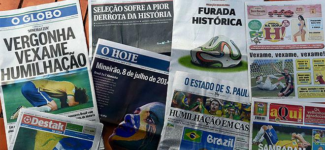 Conmoción en Brasil
