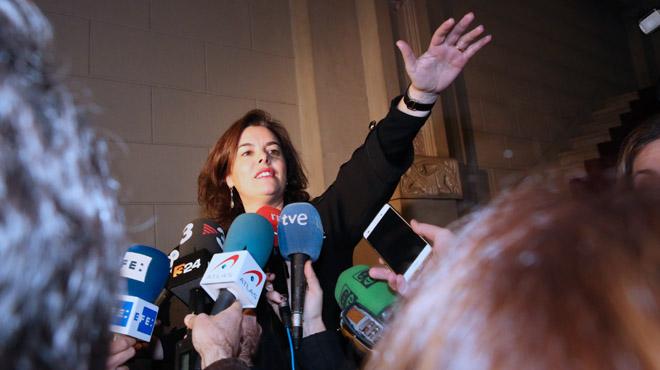Santamaría y Junqueras entierran el referéndum pactado