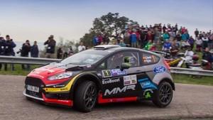Christian García, triunfal debut con el Ford Fiesta R5