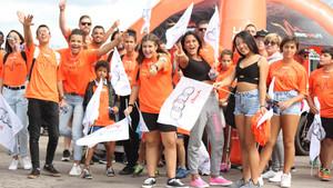 Algunos de los jóvenes que participaron en la edición pasada.