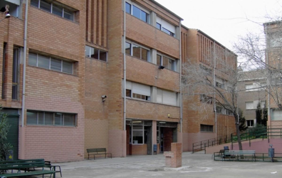 El Institut Les Vinyes de Santa Coloma de Gramenet.