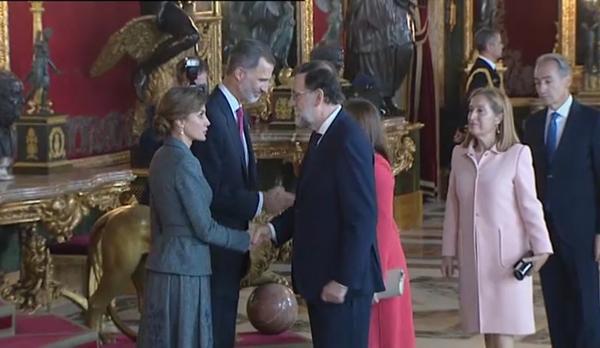 Besamans al Palau Reial marcat per la mort del pilot de lEurofighter estavellat a Albacete