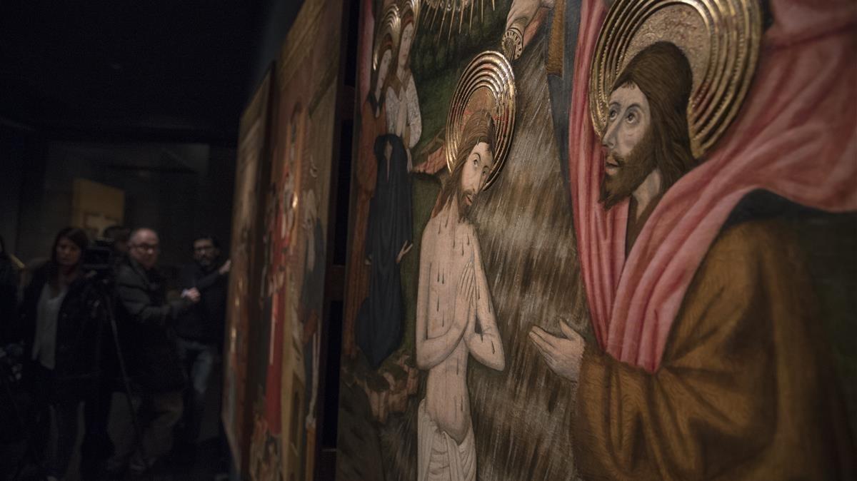 zentauroepp37527698 lleida 3 03 2017 museu diocesa amb les taules gotiques de 180118213051