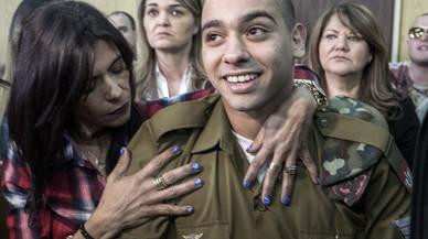Un tribunal deja en 18 meses la condena al militar israelí que mató a un palestino herido