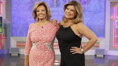 María Teresa Campos y su hija Terelu, protagonistas del 'reality' 'Las Campos'.