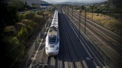 Espanya dedica a l'AVE el 95% dels fons de la UE al ferrocarril