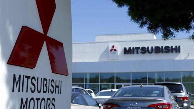 Concesionario de Mitsubishi en California.