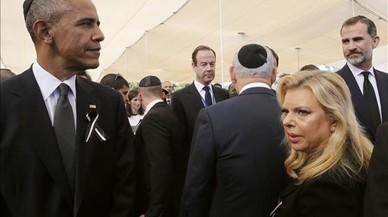 Dirigents de tot el món donen l'últim adéu a Shimon Peres