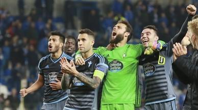 El Celta s'enfrontarà al Manchester United en les semifinals de l'Europa League