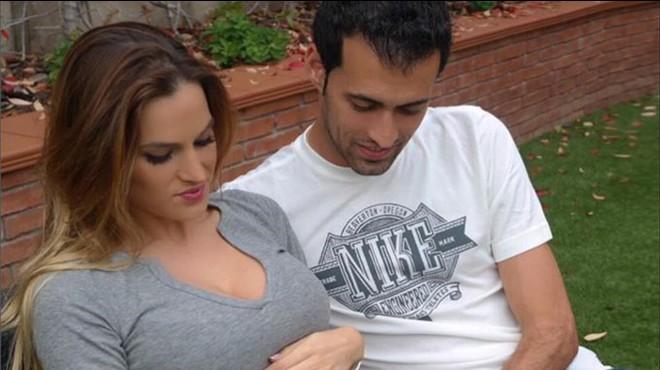 Elena Galera y Sergio Busquets, embarazados.