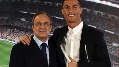 "Florentino: ""Cristiano está enfadado, pero creo que seguirá"""