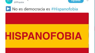 """L'oposició deplora el vídeo del PP contra la """"hispanofòbia"""""""