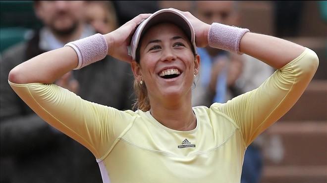 Muguruza entra disparada a la final de Roland Garros