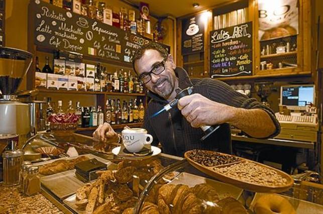 Pere Montserrat: «Tengo más de 300 recetas de cafés»