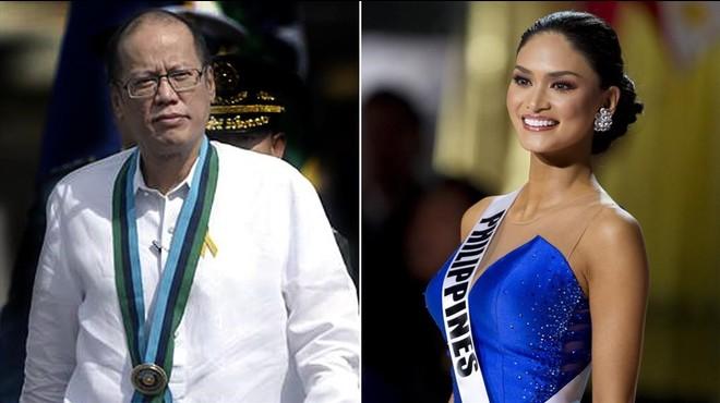 Miss Univers, amant del president de les Filipines
