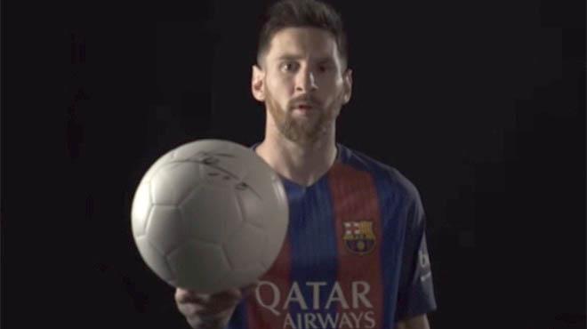 Messi y Neymar se unen a causa por niños refugiados del Barcelona y la ACNUR