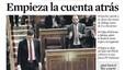 'Sánchez fa història', es delecta 'La Razón'; 'Torn per a la gran coalició', proclama l''Abc'