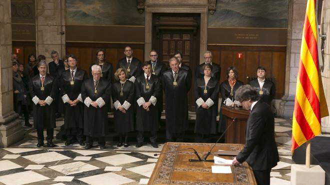 """Puigdemont reitera que la independència és """"irrenunciable"""""""