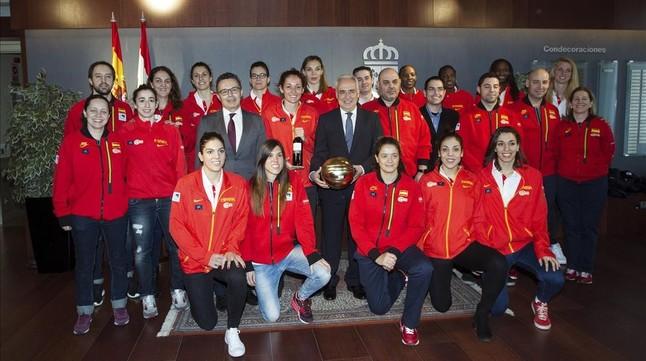 La selecci�n espa�ola de baloncesto femenino se clasifica para la Euro 2017