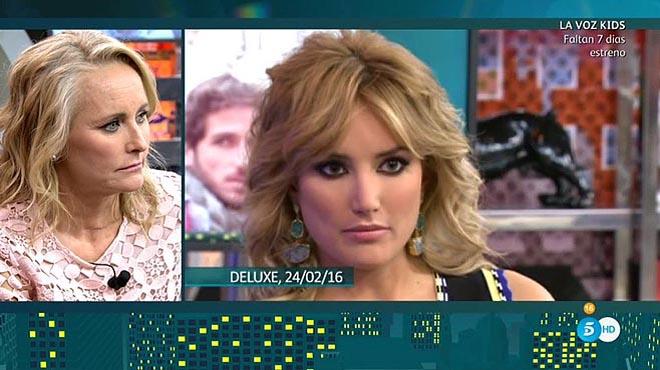 Lucía Pariente observa a su hija Alba Carrillo ('Deluxe', T-5).