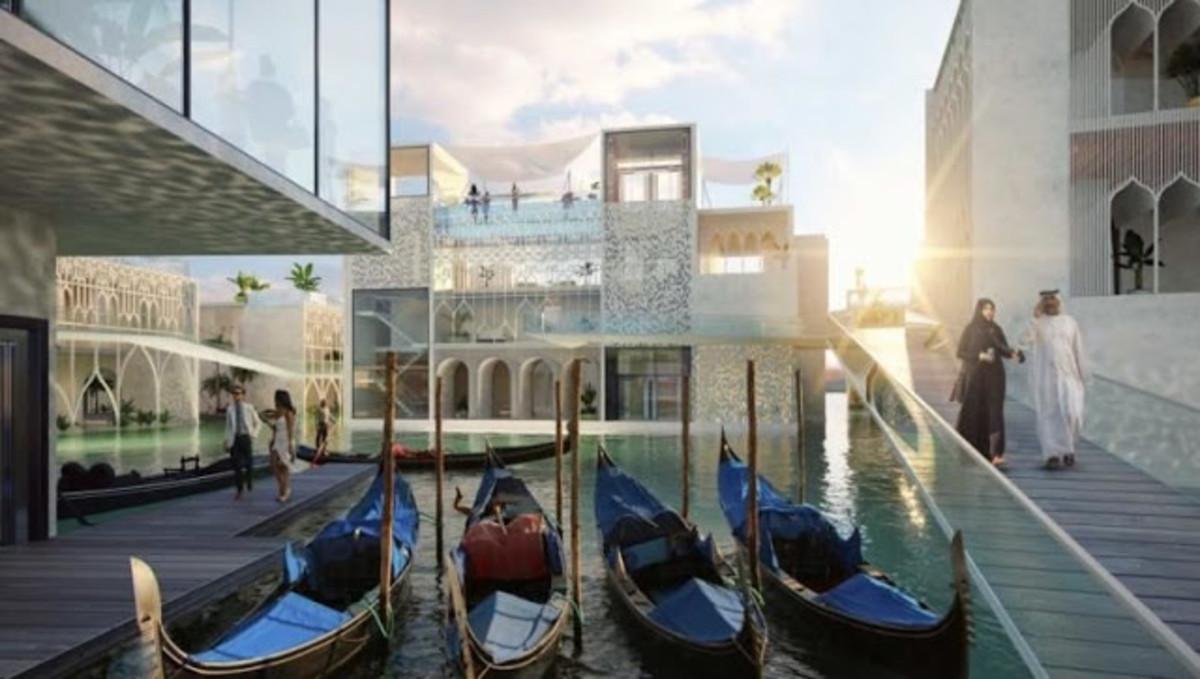 Dubái levantará su propia Venecia futurista y de superlujo