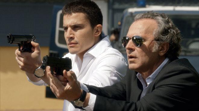 �lex Gonz�lez y Jose Coronado, en 'El Pr�ncipe'.