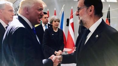 Rajoy va a Washington a buscar la declaració de Trump contra l'1-O