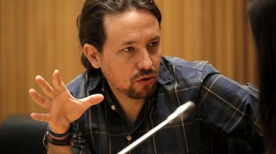 """Pablo Iglesias dice que el Gobierno lleva a España a un """"Estado de excepción"""""""