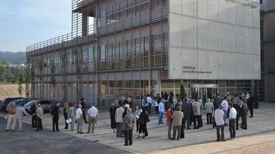 Instalación del Parc Científic i Tecnològic de Girona.