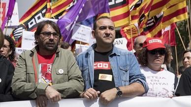 CCOO i UGT criden a participar en la vaga general