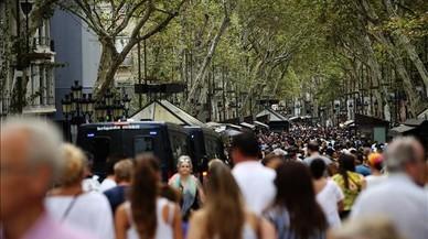 Barcelona es recupera de l'impacte del 17-A en els sectors turístic i comercial