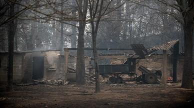 Les fotos del drama i la lluita contra el foc a Galícia
