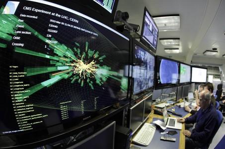 Una sala de la seu central del CERN, organisme que ha portat a terme el nou experiment.