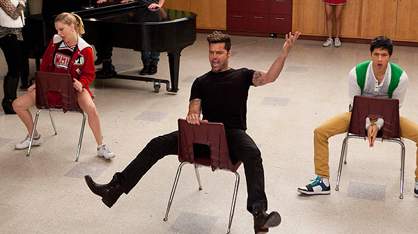 Ricky Martin interviene en un episodio de 'Glee'