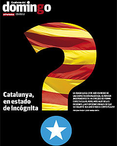 Portada del suplemento EL CUADERNO DEL DOMINGO. 
