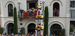 Los Castellers de Badalona.