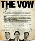 Los tres dirigentes brit�nicos escenifican su compromiso de dar nuevos poderes a Escocia