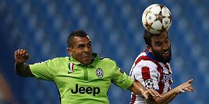 El Atl�tico logra superar a la Juve (1-0)